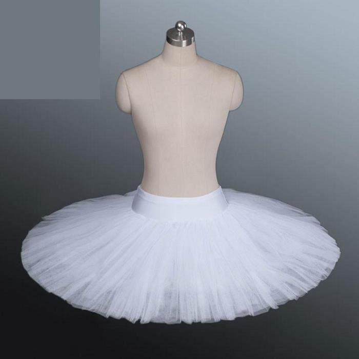 Costume de danse de Ballet professionnel pour femmes, jupe Tutu avec sous-vêtements pour adultes, noir, blanc, rouge [62F34F4]