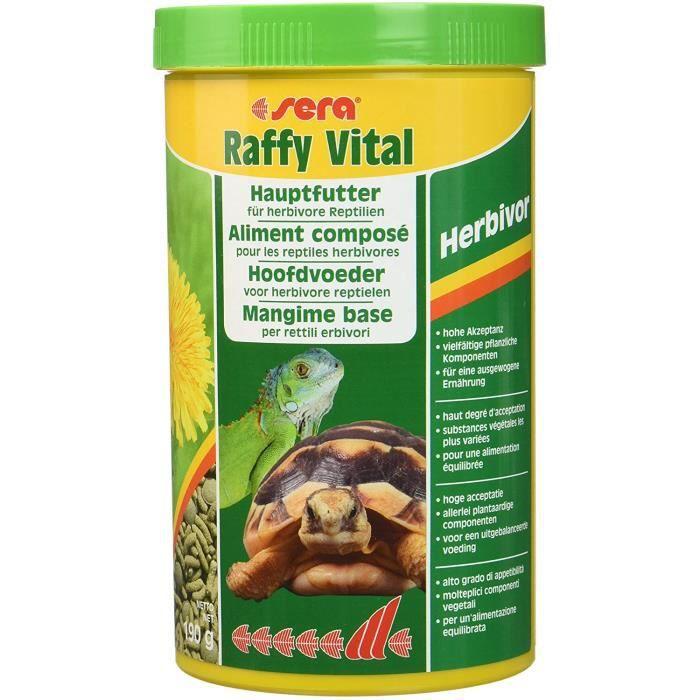 SERA Nourriture pour Reptile Raffy Vital 1000 ML