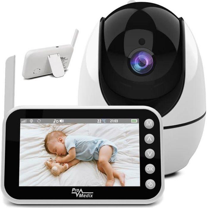 Babyphone avec caméra surveillance vidéo PR-805 Vision nocturne pivotante