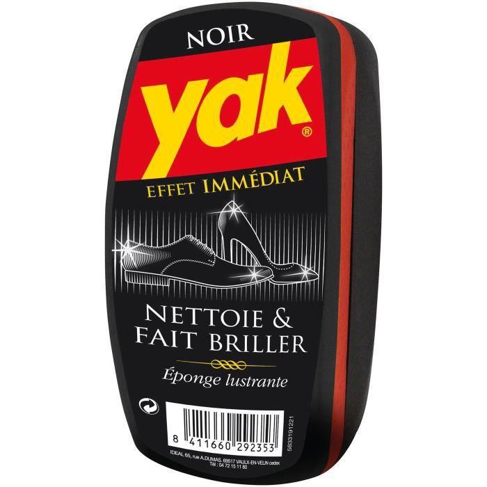 Eponge lustrante Yak - noir