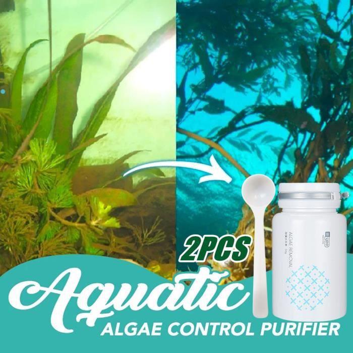 Agent anti-algues dissolvant de mousse pour aquarium algicide avec cuillère z231