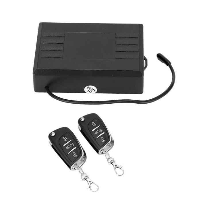 EBTOOLS Kit central à distance de voiture Système d'entrée sans clé universel de kit central à distance automatique de serrure