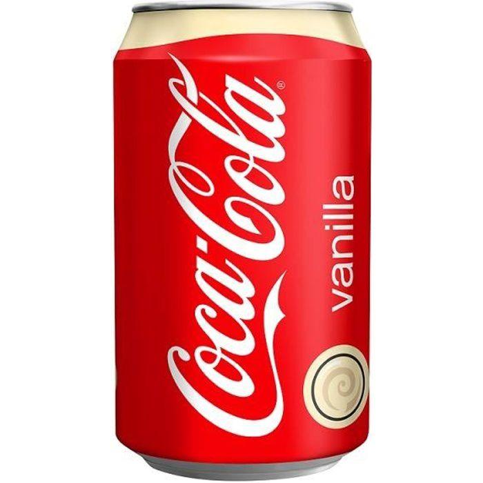330ml Vanille Coca-Cola (Pack de 24 x 330ml)