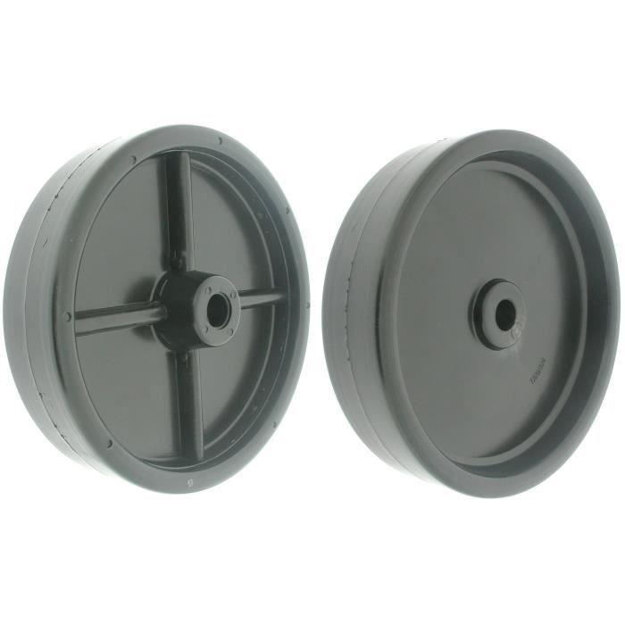 Roue de coupole adaptable pour AMF - Ø: ext: 152mm, alésage: 12,7mm, Long moyeu: 35mm déporté