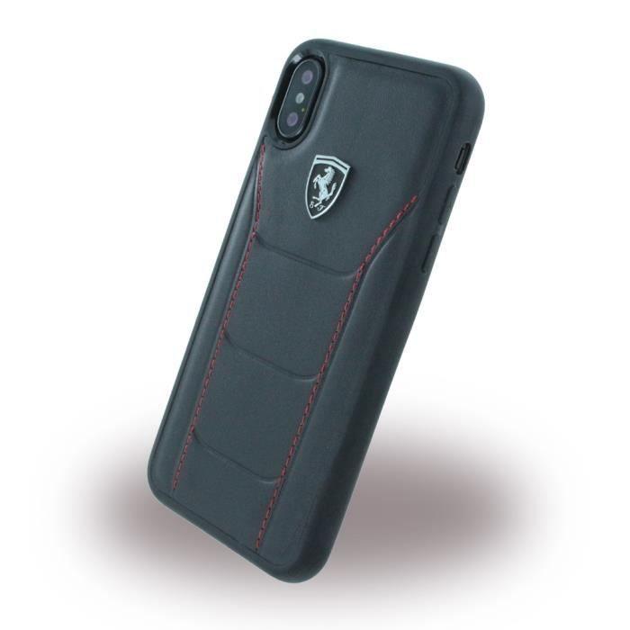 Ferrari - 488 Heritage - Hard Cover - Apple iPhone X - Black..