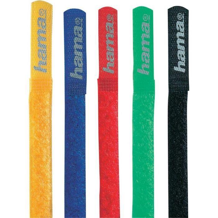 Bandes à velcro® HAMA, différents couleurs
