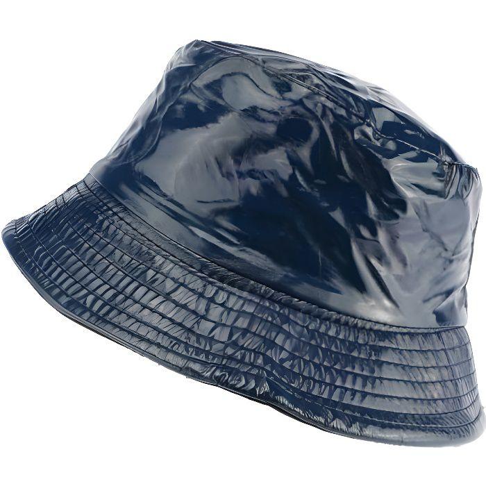 Chapeau pluie bleu Maud Nyls Création - Bleu - Taille unique