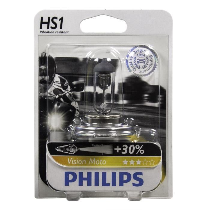 PHILIPS Ampoule halogène Moto Vision HS1 - 12V - 35W