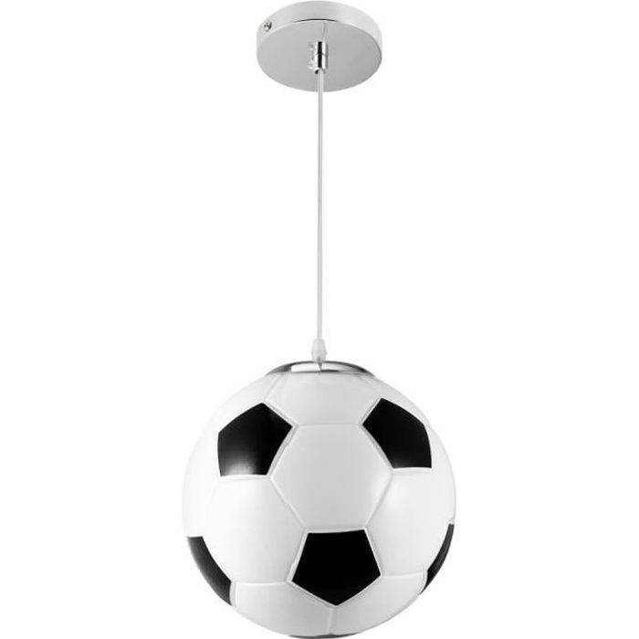 La suspension de 1pc de Football boutique droplight lampe sans suspendue ampoule LUSTRE - SUSPENSION
