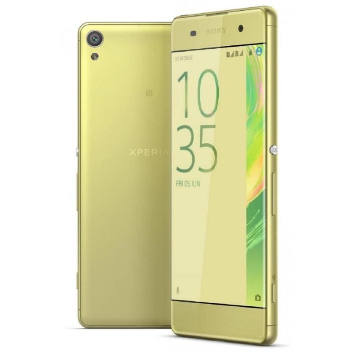 Sony Xperia Xa F3116 16gb Dual Sim Gold Lime