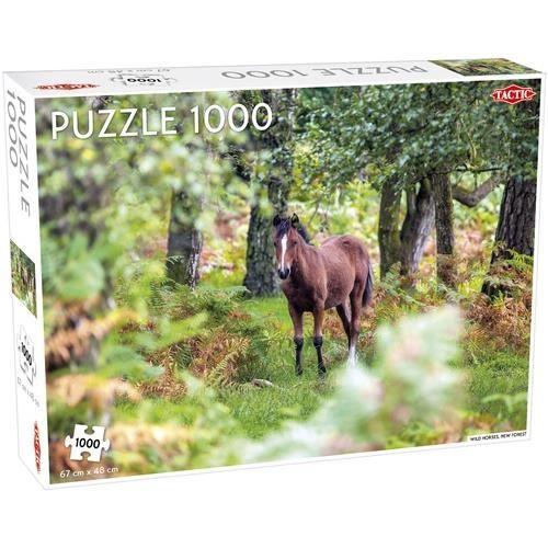 Tactic puzzle Wild Horses 1000 pièces