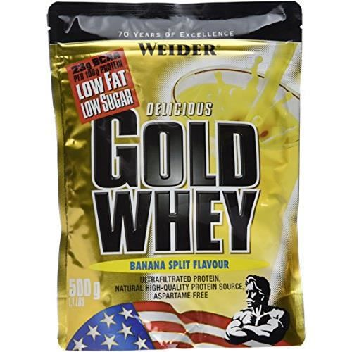 WEIDER Sachet de Gold Whey Banana Split 500g