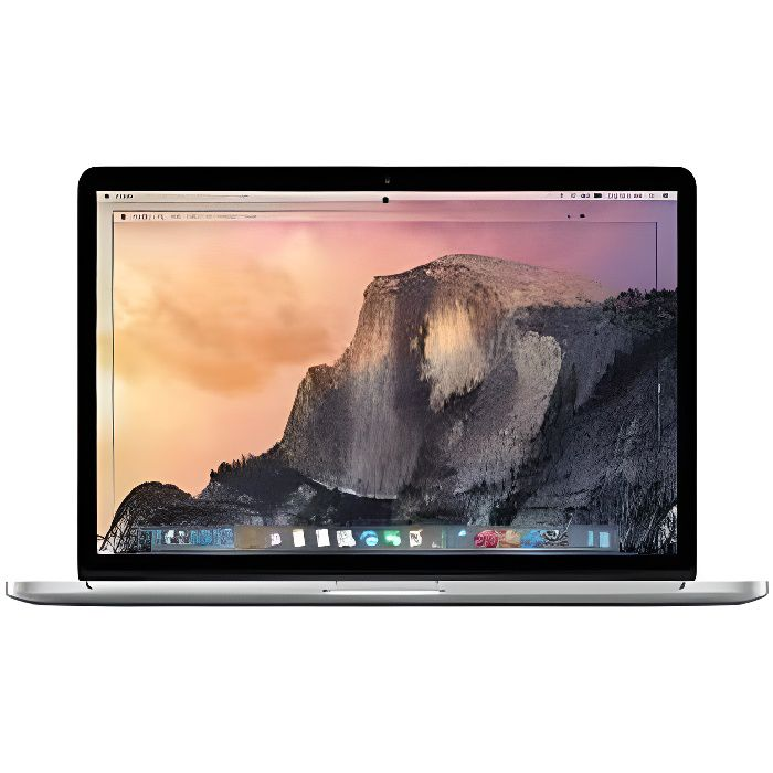 apple macbook pro 13 3 retina 128 go ssd 16 go ram intel. Black Bedroom Furniture Sets. Home Design Ideas