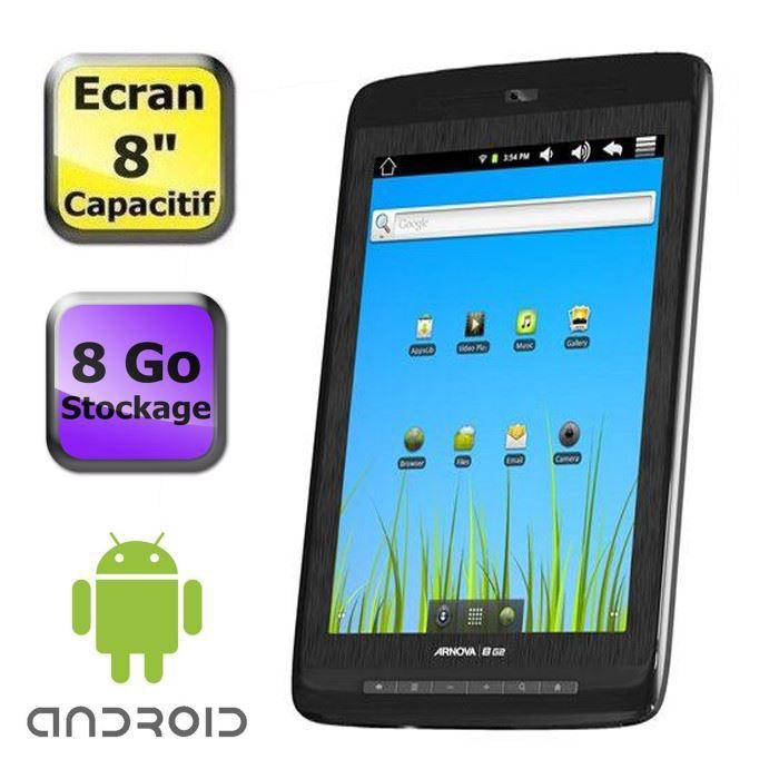 TABLETTE TACTILE Tablette PC WiFi Arnova 8 G2 - 8 Go