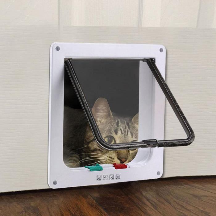 Trappe de porte pour chat