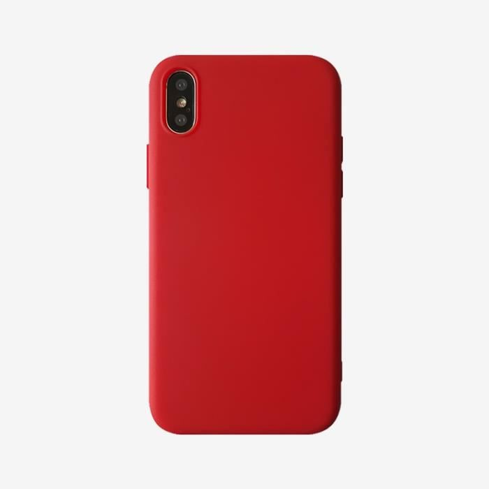 coque iphone x silicone apple