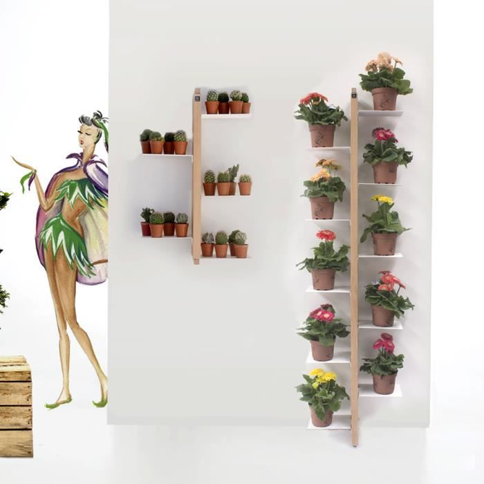 zia flora porte plantes suspendue achat vente meuble support plante zia flora porte plantes. Black Bedroom Furniture Sets. Home Design Ideas