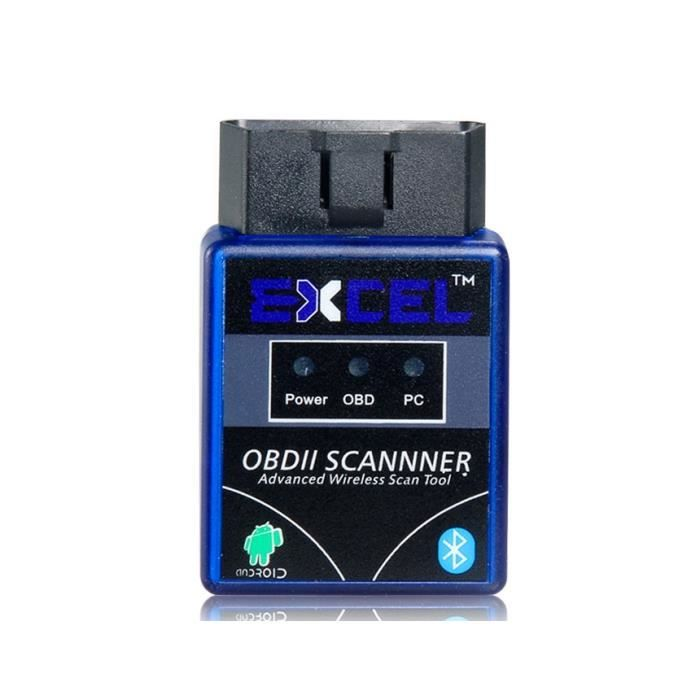 excel obd2 elm327 obd ii scanner bluetooth d te achat vente outil de diagnostic excel obd2. Black Bedroom Furniture Sets. Home Design Ideas