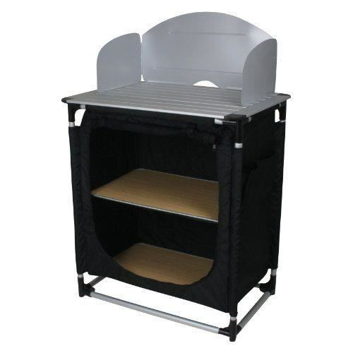 meuble camping cuisine achat vente pas cher cdiscount. Black Bedroom Furniture Sets. Home Design Ideas