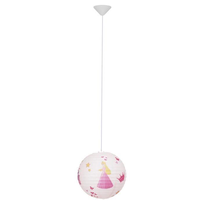 LUSTRE ET SUSPENSION Lustre - suspension papier Princess diamètre 30 cm