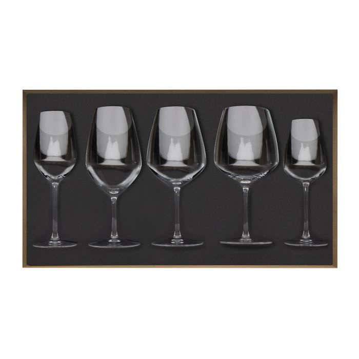 coffret de 5 verres origine guy degrenne achat vente. Black Bedroom Furniture Sets. Home Design Ideas