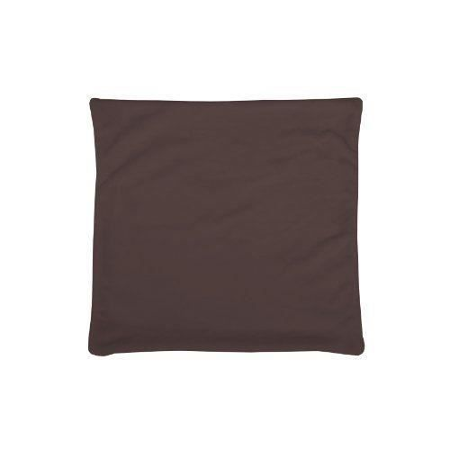 Housse coussin 60x60 chocolat achat vente housse for Housse coussin 60x60