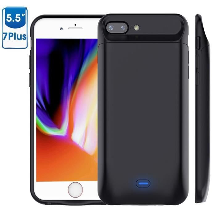 coque batterie iphone 7 plus 8 plus 5000 mah ch