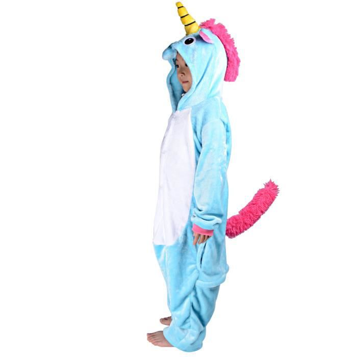 kigurumi enfant d guisement licorne grenoulli re licorne. Black Bedroom Furniture Sets. Home Design Ideas