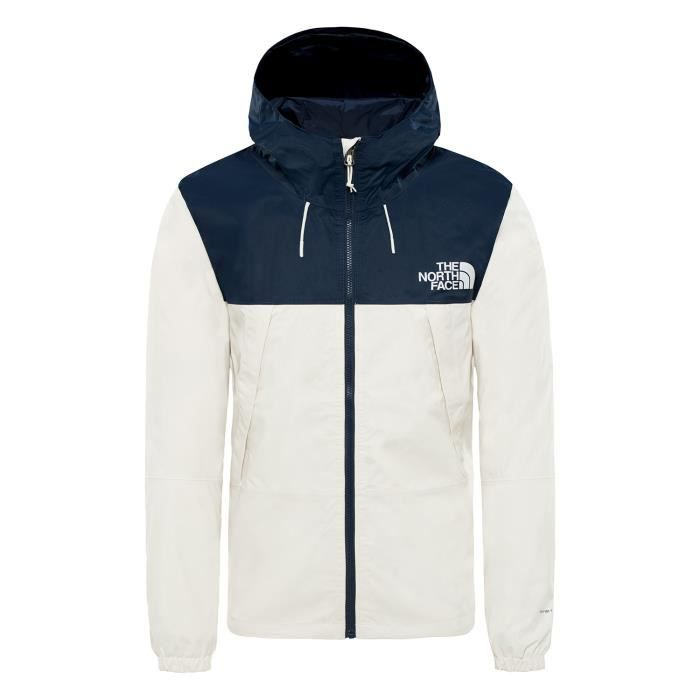 Coupe vent The North Face MOUNTAIN Q 1990 Jacket coloris Vintage White Urban Navy