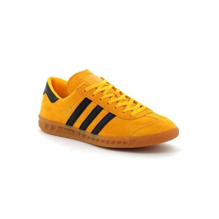 Adidas hamburg Jaune Jaune - Cdiscount Chaussures