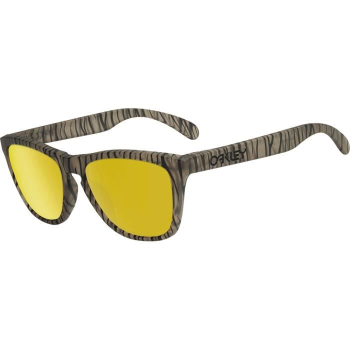 f34c990a3ce Oakley Frogskins Matte Sepia Urban Jungle 24K Iridium - Medium-Large ...