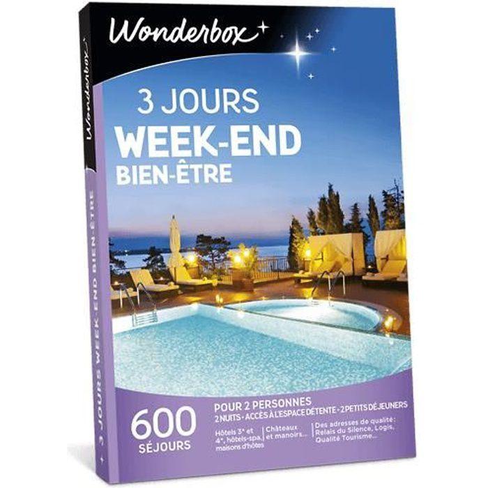 COFFRET SÉJOUR Wonderbox - Coffret cadeau en couple - 3 jours wee