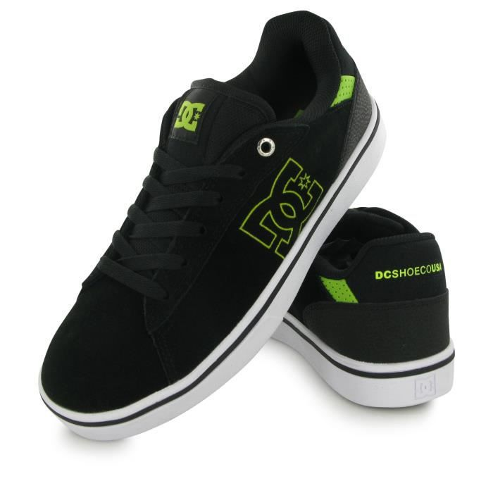 Dc Shoes Notch Sd noir, baskets mode homme