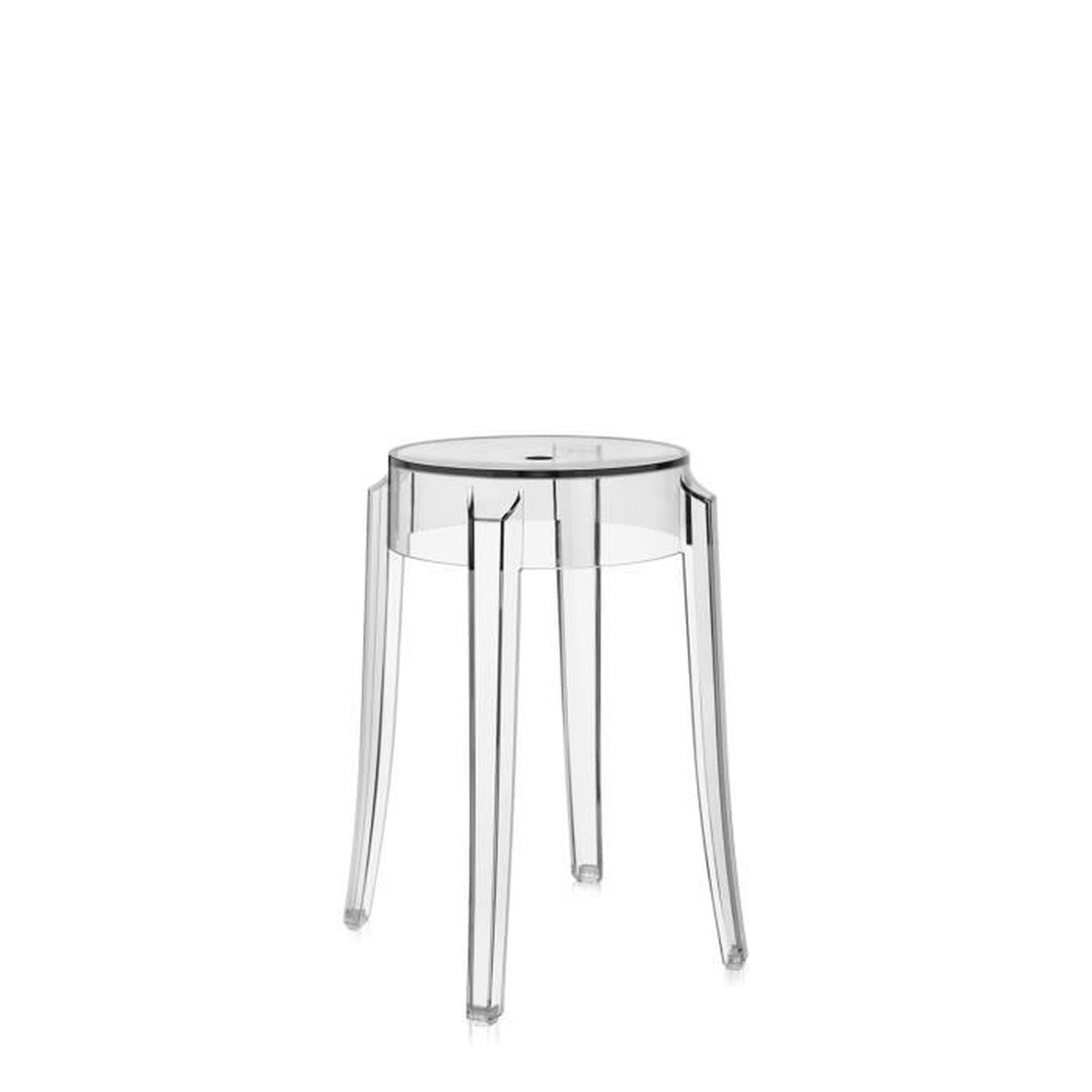 Kartell tabouret charles ghost h46 cm cristal achat vente tabouret cd - Fauteuil kartell occasion ...