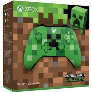 MANETTE JEUX VIDÉO Manette sans fil Xbox One Edition Limitée Minecraf