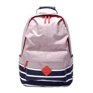 SAC À DOS Grand Sac à Dos Backpack Scolaire à Rayures Imperm