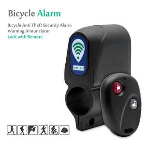 M-Wave vélo-alarme Serrure Château Bike-Alarme NEUF