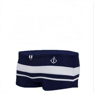 MAILLOT DE BAIN Vogue Hommes Plage Shorts Stripe Color Matching Bo