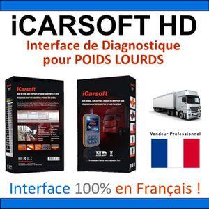 OUTIL DE DIAGNOSTIC Valise Diagnostique POIDS LOURDS - iCARSOFT HD - A
