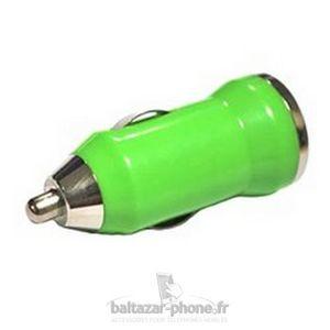 CHARGEUR TÉLÉPHONE Chargeur voiture vert pour KAZAM Thunder 350L