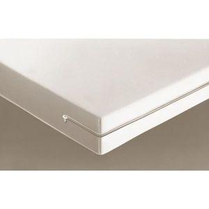 PROTÈGE MATELAS  Housse de matelas intégrale - Blanc - 140 x 190 cm
