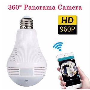 CAMÉRA MINIATURE 360 Degrés Panorama Vidéo Caméra Wifi IP Ampoule S