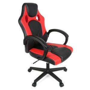 SIÈGE GAMING Chaise de Bureau Confortable Fauteuil de Bureau Ha