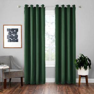 RIDEAU Doubles Rideaux Occultants Isolant Thermique Vert