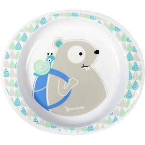 ASSIETTE - PLATEAU BÉBÉ BADABULLE Assiette Micro-ondes - Garçon - Blue Bea