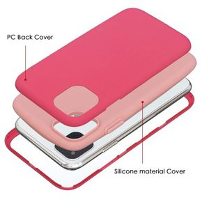 COQUE - BUMPER Coque iPhone 11,Rouge Ultra Slim 3 en 1 Rigide PC
