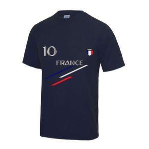 MAILLOT DE FOOTBALL Maillot - Tee shirt foot France  2 étoiles enfant