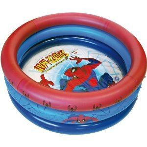 PISCINE GONFLABLE  Piscine gonflable 110 cm spiderman