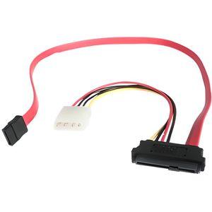 PACK CONNECTIQUE  Câble SFF-8482 vers SATA avec alim. LP4 de 46 cm -