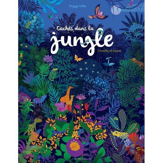 Caches Dans La Jungle Cherche Et Trouve